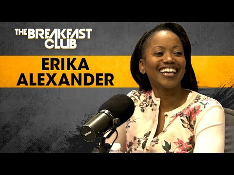 Erika Alexander On Reviving Good Black Characters, Working With Bill Cosby, Her Parents + More