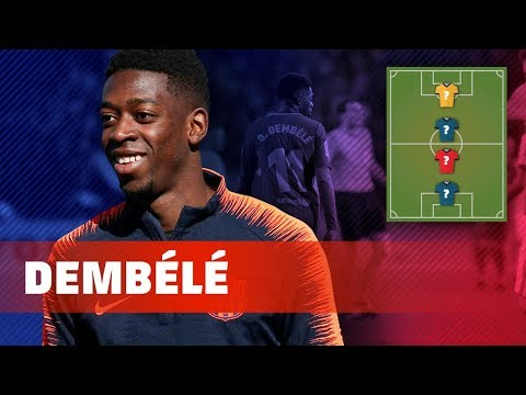 OUSMANE DEMBÉLÉ | MY TOP 4 (LEGENDS)