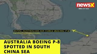 Australian Boeing P-8 Spotted in South China Sea  NewsX - NEWSXLIVE