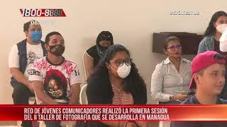 Inició Segundo Taller de Fotografía para jóvenes en Managua - Nicaragua