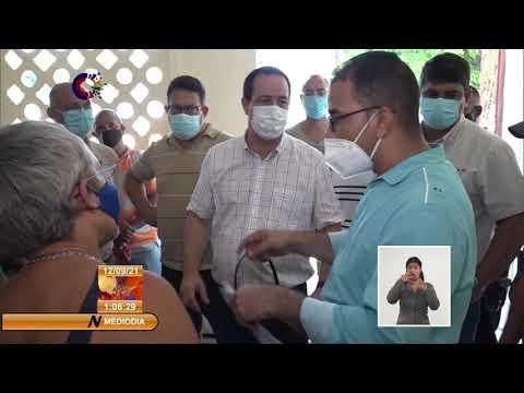 Ministro de Salud Pública de Cuba evalúa situación epidemiológica en Baracoa