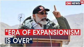 PM Modi: Era Of Expansionism Is Over, We Are In The Age Of Progress | CNN News18 - IBNLIVE