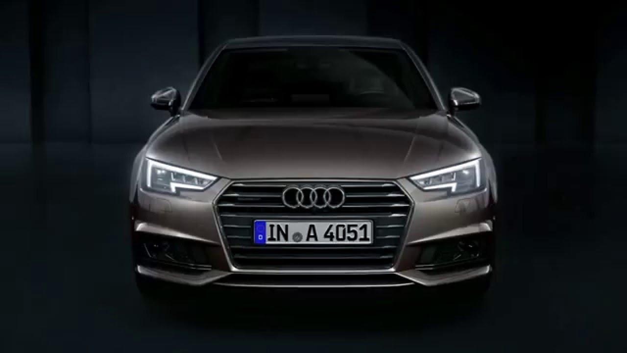 The all-new Audi A4: Audi Matrix LED headlights
