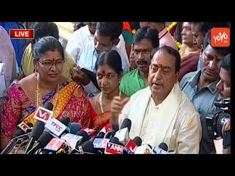 Minister Indrakaran Reddy Speech at Ujjaini Mahakali Temple Secunderabad |  Bonalu 2018