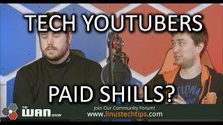 Tech Youtubers *NOT* disclosing sponsorships?? - WAN Show June 15 2018