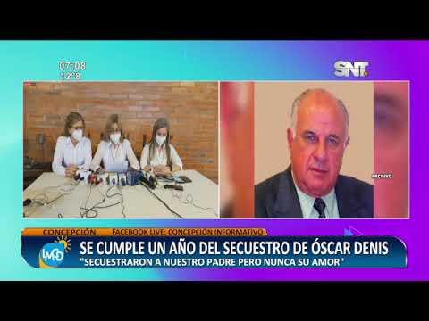 Se cumple un año del secuestro de Óscar Denis