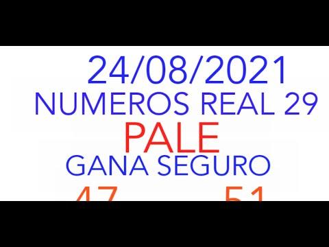 NUMEROS PARA HOY 24/08/2021 DE AGOSTO PARA TODAS LAS LOTERIAS¡¡¡¡NUMEROS REAL 29