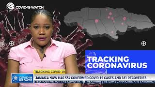 Jamaica Remains at 534 Confirmed Cases & Has 181 Recoveries - May 22, 2020 | CVM TV