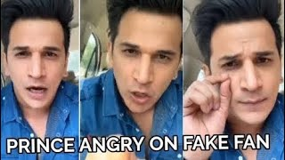 Prince Narula lashes out on a fan who tries to PLOT him as a CHEATER in front of Yuvika I Checkout - TELLYCHAKKAR