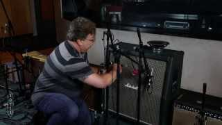 Recording Electric Guitar - Session 4 Microphone Placement with Ross Hogarth