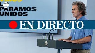 DIRECTO CORONAVIRUS | Rueda de prensa de Fernando Simón