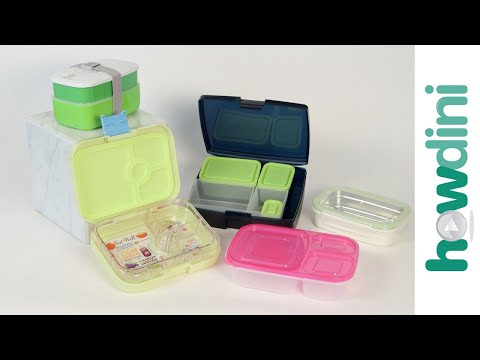Healthy Lunch Ideas For Kids: How to choose a bento box