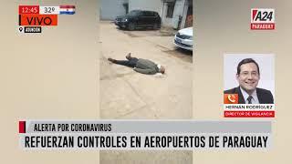 #Ahora Por alerta de Coronavirus, refuerzan controles en aeropuertos