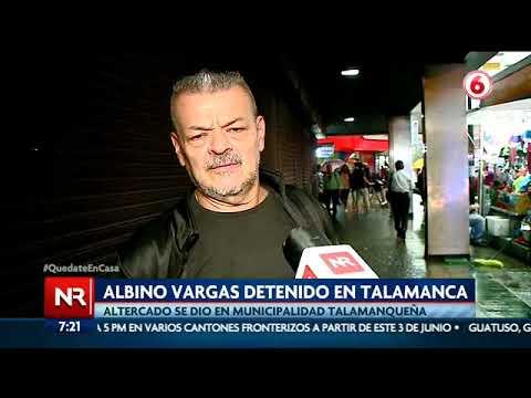 ¿Cuál es la opinión de los costarricenses sobre la detención de Albino Vargas