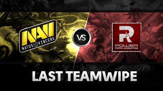 Last teamwipe by Na`Vi  vs PR @ Excellent Moscow Cup S2