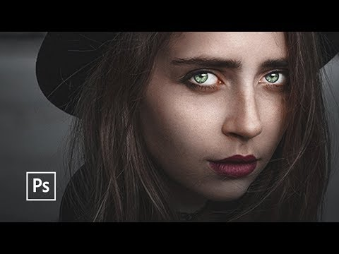 How to Make Portraits More Dramatic | Photoshop tutorial