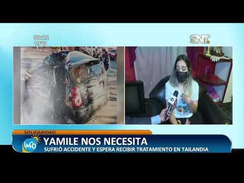 Yamile  Estigarribia nos necesita para recibir tratamiento en Tailandia