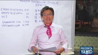 Pregunta Yamid: Claudia López, Alcaldesa Mayor de Bogotá