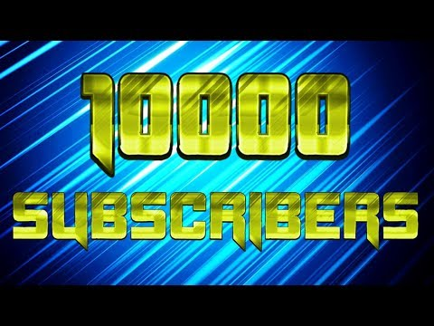 connectYoutube - Every Gaming Video on my Channel Time-Lapse | 10000 Subscribers Special