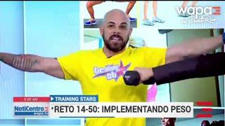 Training Stars: Impelemntando peso en el Reto 14-50