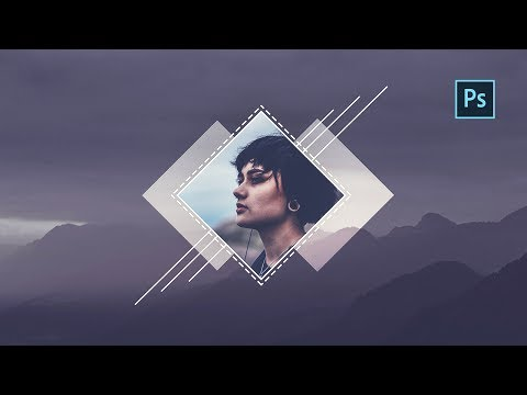 Geometric Shape Effect | Photoshop Tutorial