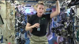 Space Station Crew Member Discusses Life and Work in Space with Cosmopolitan Magazine