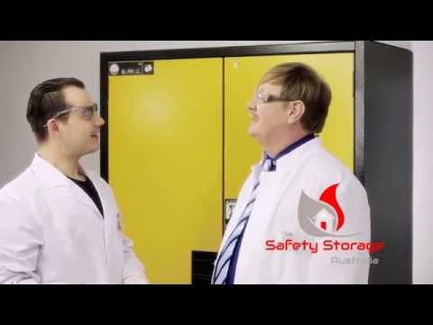 Safety Storage Australia fire proof cabinets