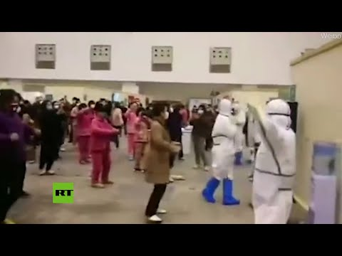 Convierten lugares de cuarentena en pista de baile