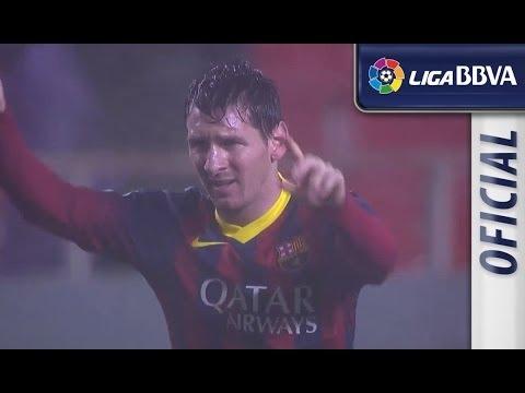 البطولة الإسبانية أهداف مباراة إشبيلية وبرشلونة:1-4