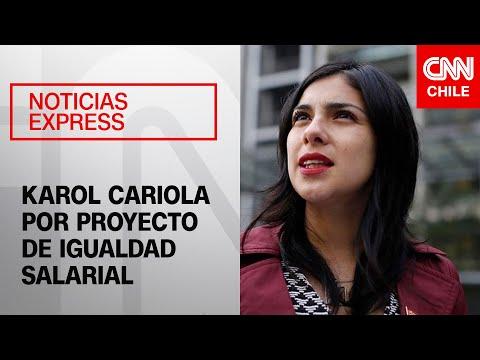 """Karol Cariola: """"Estamos entre los 6 países con mayor brecha entre hombres y mujeres"""""""