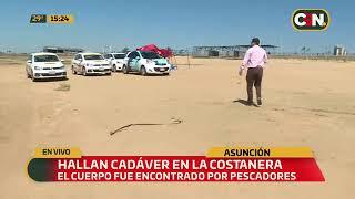 Hallan cadáver en la Costanera de Asunción