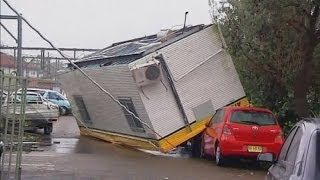 فيديو: اثار الدمار في سيدني