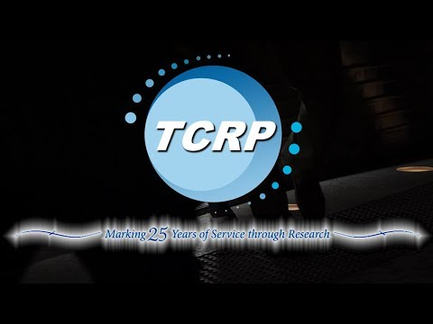 TCRP: Marking 25 Years of Service through Research
