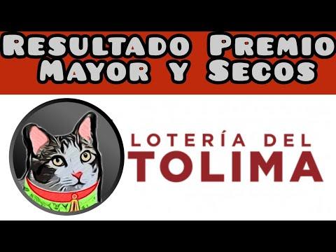 Resultado Loteria del Tolima Premio Mayor y Secos lunes 20 de septiembre de 2021