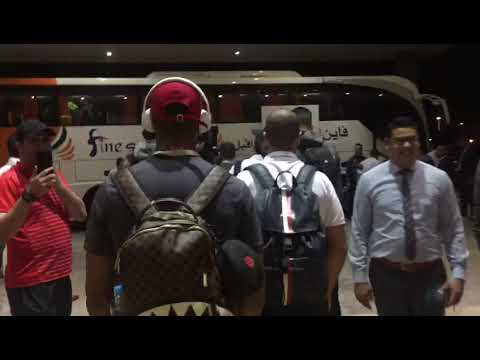 فيديو مغادرة نهضة بركان مقر الإقامة نحو الملعب بالزغاريد