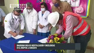Nueva área oncológica para mejor atención a niños y niñas en La Mascota - Nicaragua