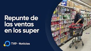 Las ventas en supermercados subieron 2,6 % en relación al año anterior