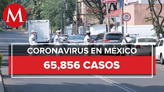 Suman 7 mil 179 muertes por coronavirus en México
