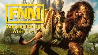 FNM with Force - Mono White (MTG 2015 Multiplayer)