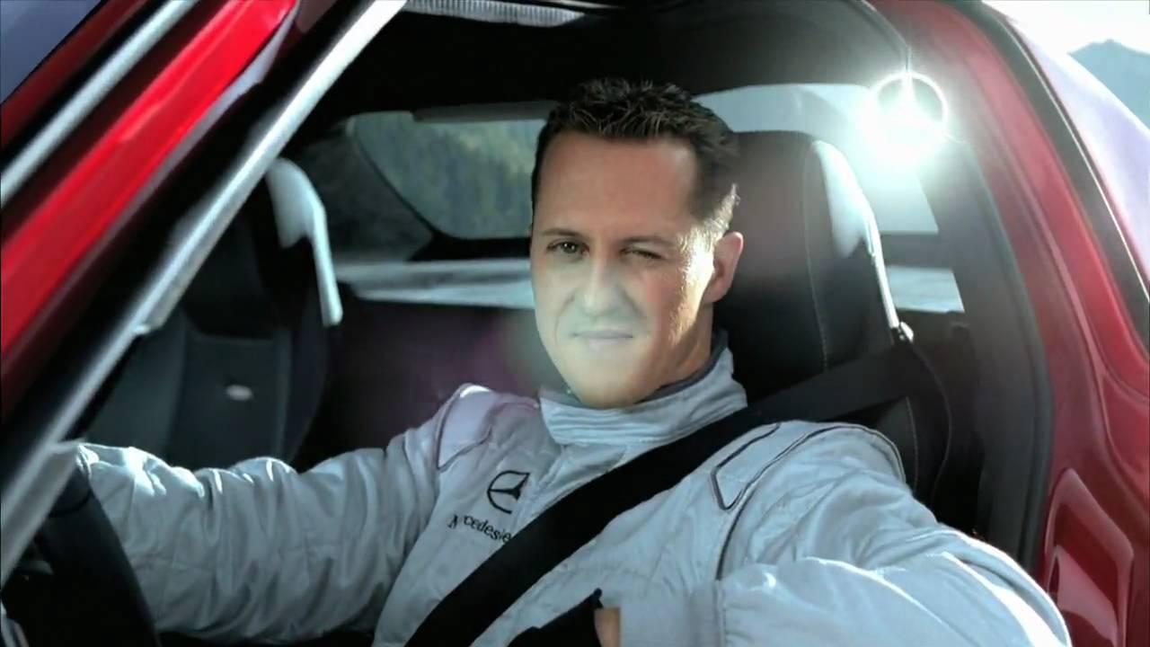 Mercedes Benz SLS AMG tunnel experiment