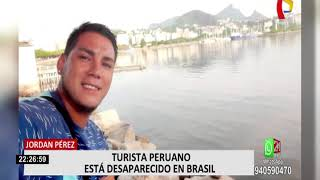 TURISTA PERUANO ESTÁ DESAPARECIDO EN BRASIL