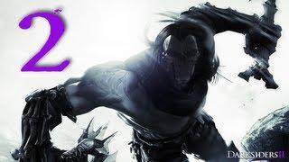 Darksiders 2 Walkthrough / Gameplay Part 2 - The One-Hitter Quitter
