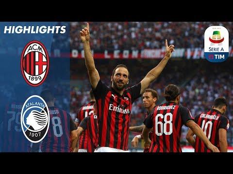 أهداف مباراة ميلان واطلنطا 2-2 ( البطولة الايطالية )