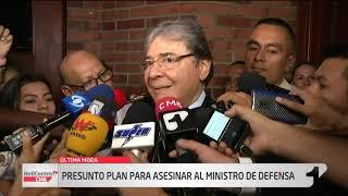 Revelan presunto plan para asesinar al ministro de Defensa