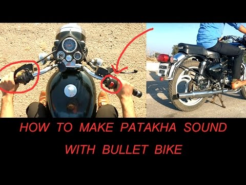 connectYoutube - How to make Pataka Sound with your Bullet bike