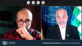 Bolivia sobre propuesta para la defensa de la Madre Tierra en el contexto de la COP