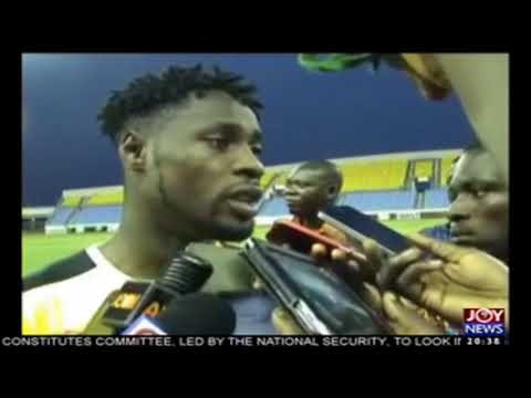 VIDEO: Striker Richmond Boakye-Yiadom eyes Egypt win for 'fantastic' Cape Coast fans