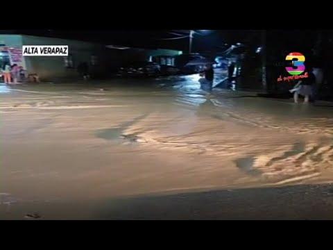 Continúan las lluvias en los Departamentos del país