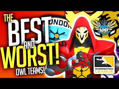 connectYoutube - Overwatch - BEST and WORST Pro Teams! POWER RANKING! [Overwatch League]