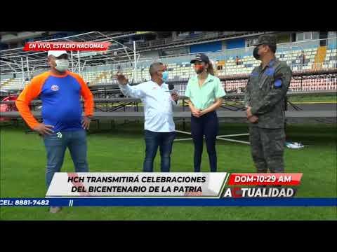 Autoridades de COPECO nos comentan como será la distribución en el Estadio Nacional este 15